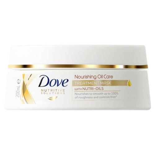 Dove Nourishing Oil Care Treatment Mask_front image_200ml_product image