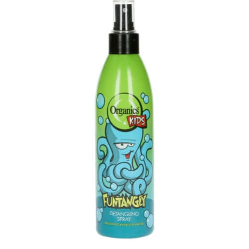 Organics Kids Funtangly Detangling Spray.