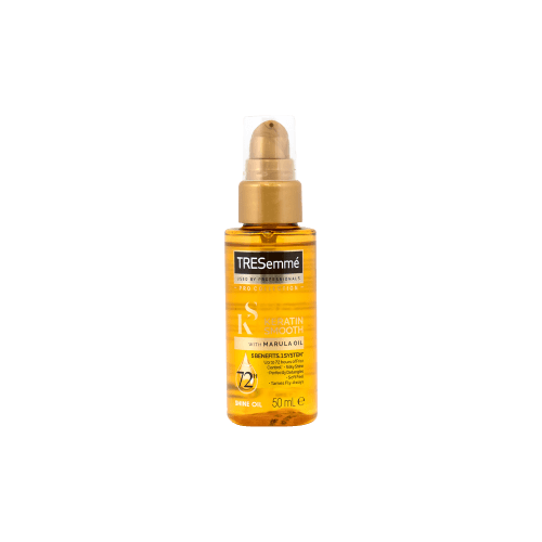 TRESemmé Keratin Smooth Shine Oil_front of bottle image_50ml_product image