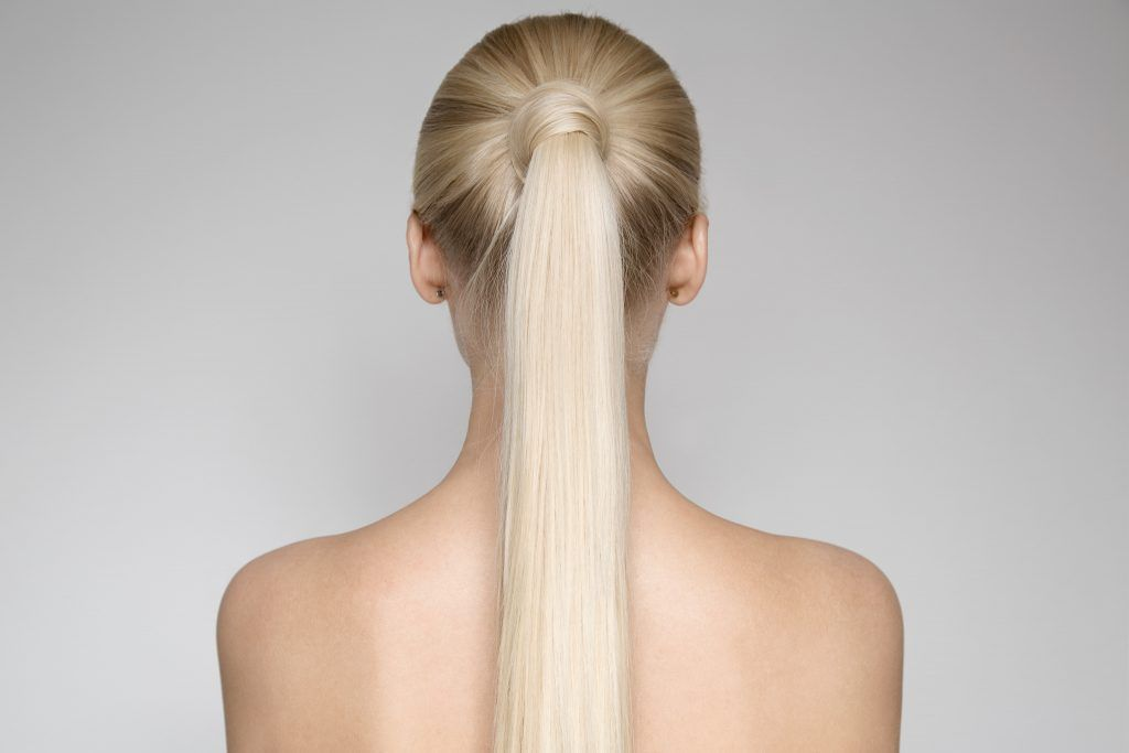Long hair: Wrapped Ponytail