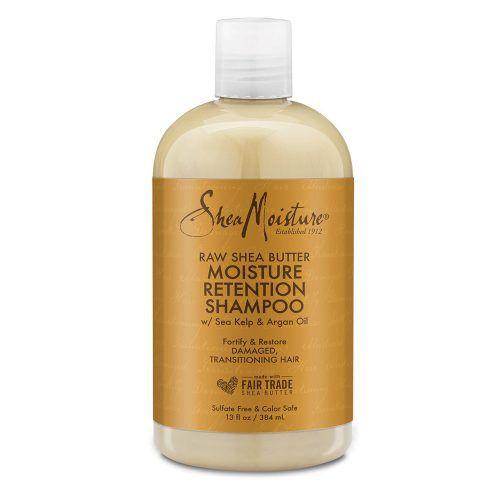 Shea Moisture Raw Shea Butter Moisture Retention Shampoo front of pack