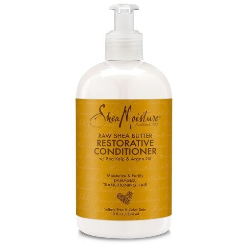 Shea Moisture Raw Shea Butter Restorative Conditioner front of pack