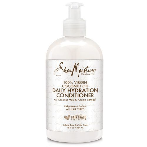 Shea Moisture Virgin Coconut Oil Daily Hydration Conditioner front of pack