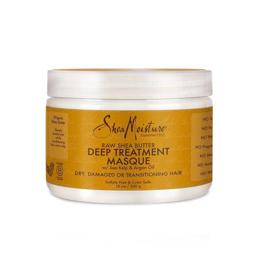 Shea Moisture Raw Shea Butter Deep Treatment Masque front of pack