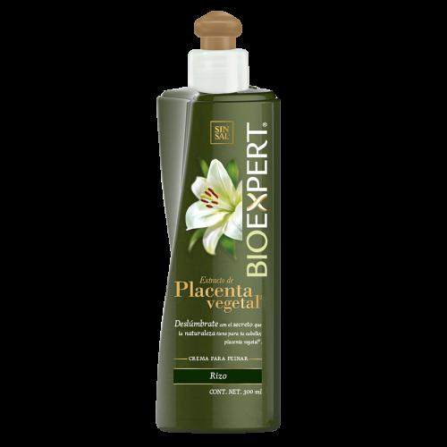 Crema para peinar Bioexpert Placenta Vegetal para cabello rizo