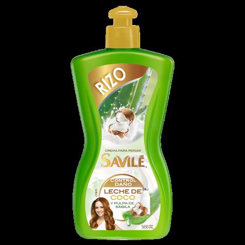 Crema para Peinar Savilé Rizo Leche De Coco