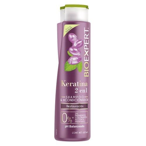 Shampoo 2 en 1 Bioexpert Keratina