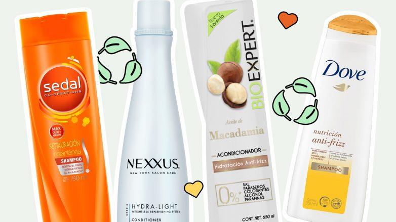 Cómo reciclar las botellas de shampoo y acondicionador