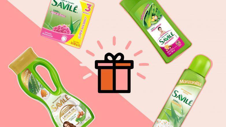 Productos Savilé para Giveaway