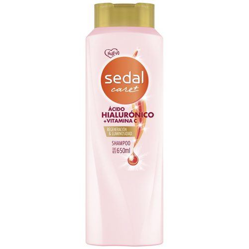 Shampoo Sedal Care+ Ácido Hialurónico + Vitamina C