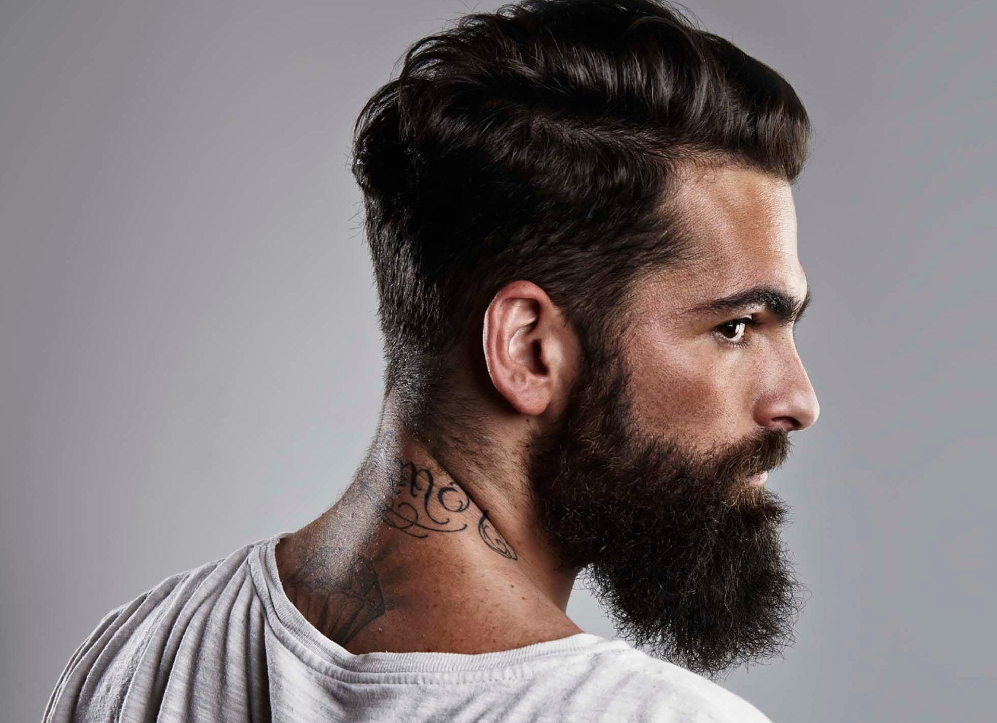 Pintar Barba E Bigode Sim Ou Nao
