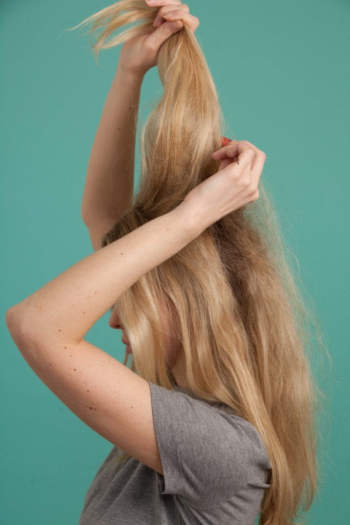 cabelo Brigitte Bardot passo 1