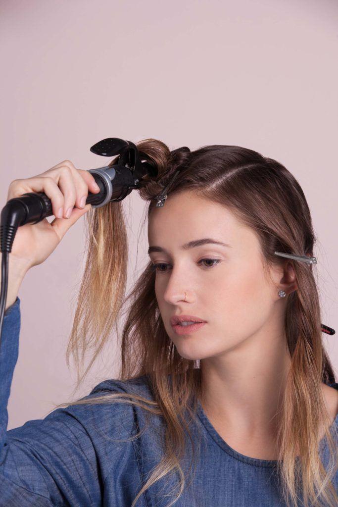 penteado anos 20 passo 3
