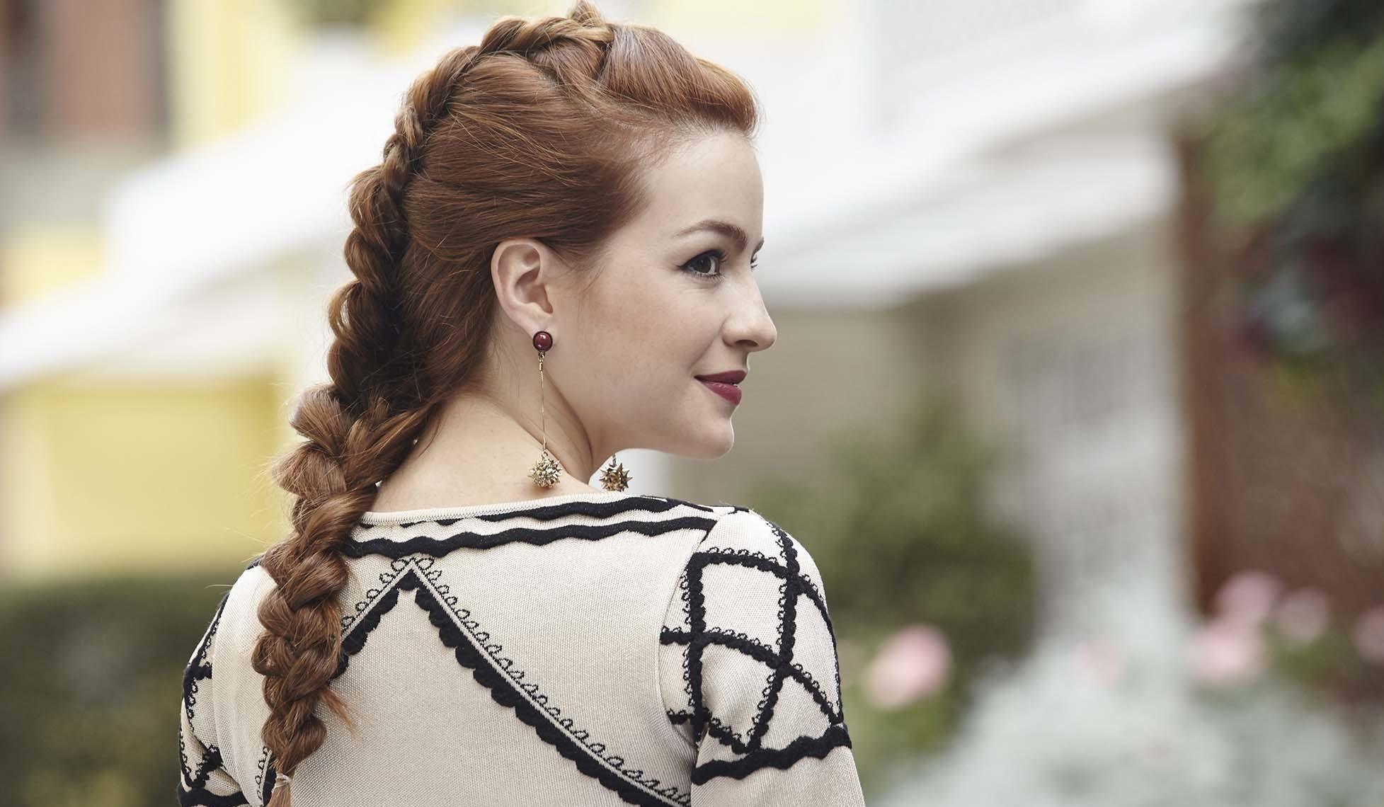 penteado casamento trança holandesa embutida