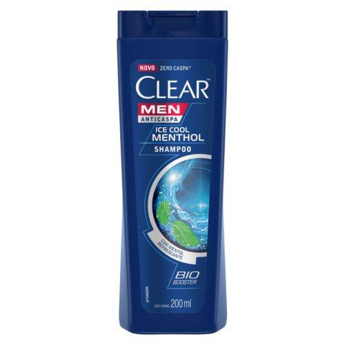 Shampoo Clear Men Ice Cool Menthol