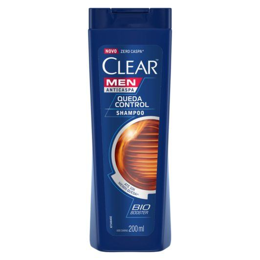 Shampoo Clear Men Queda Control