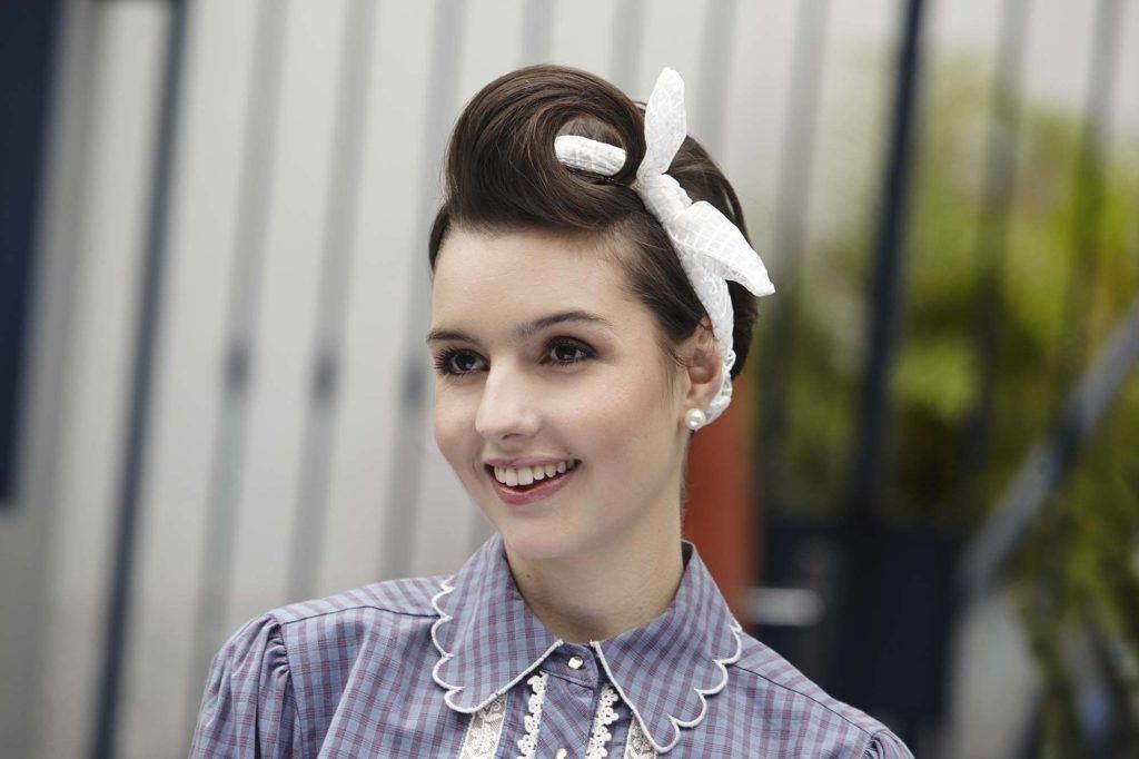 penteado pin up em cabelo curto inspirado em cabelos tumblr