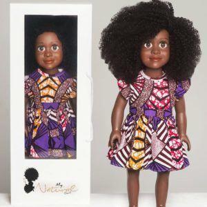 boneca de cabelo crespo 2