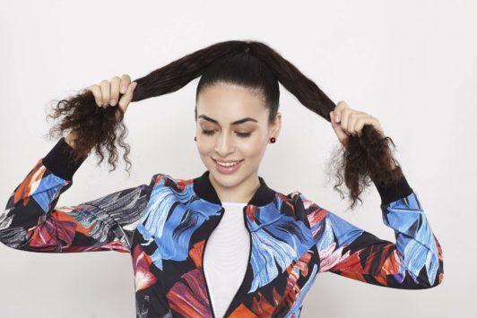 penteados para fazer depois da academia.