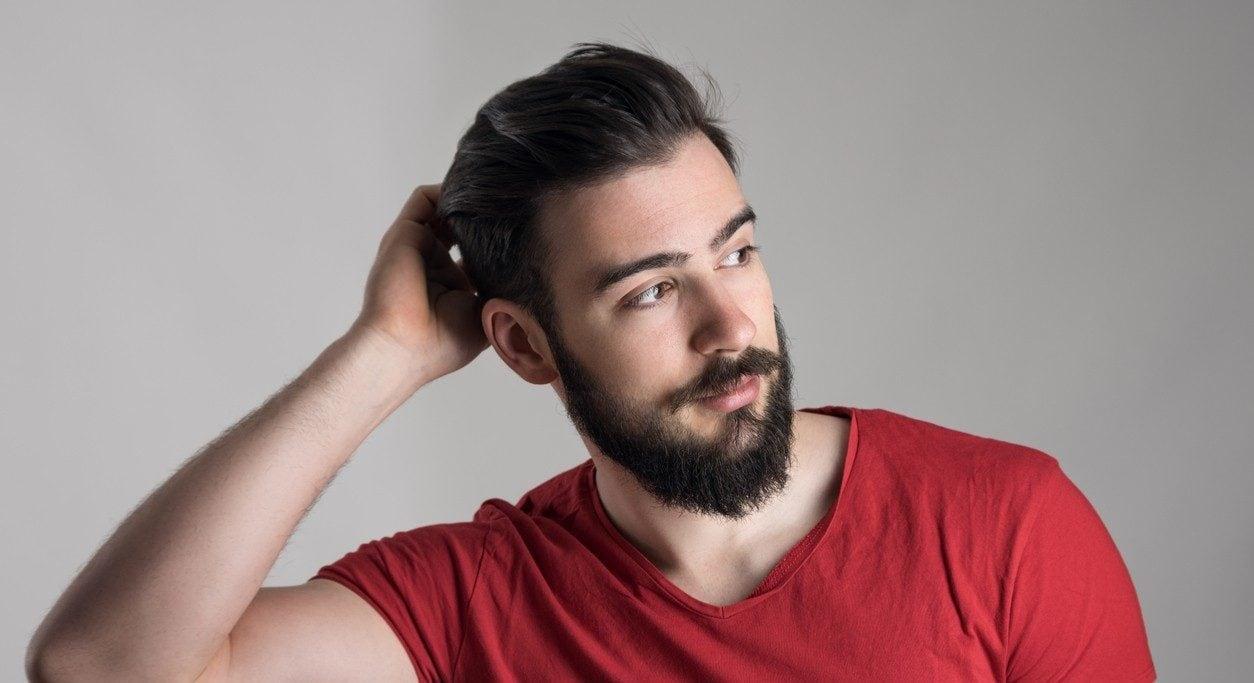 modelo de Penteados masculinos para o lado