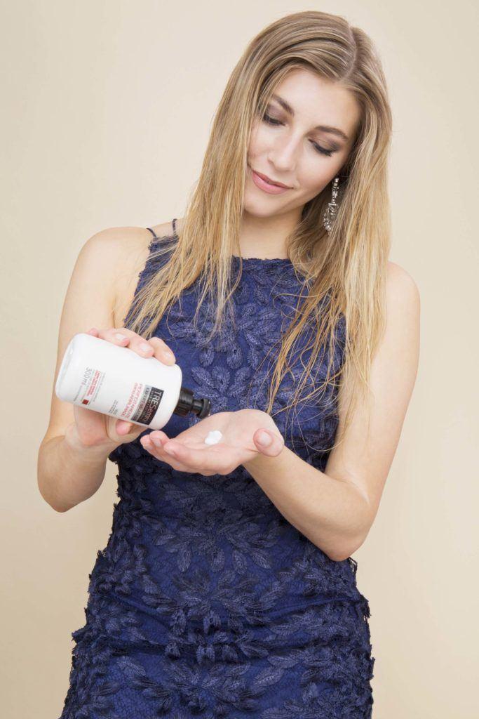 modelo de cachos glamorosos