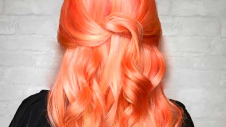 modelo de Cabelo tangerina