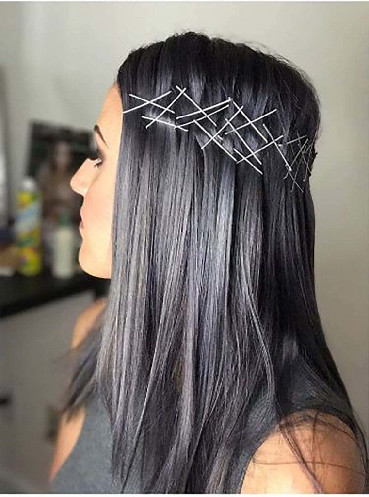 modelo de charcoal hair