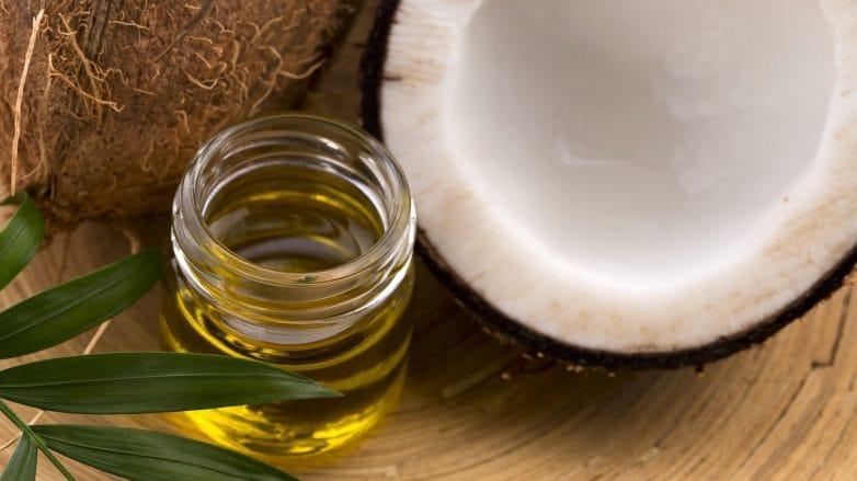 Foto de óleo de coco
