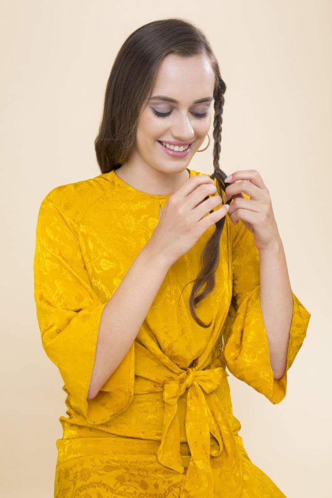 modelo de cabelo ondulado durante a noite passo 6