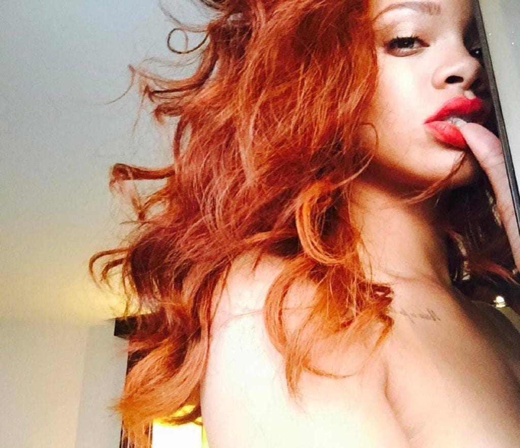 cabelos da Rihanna