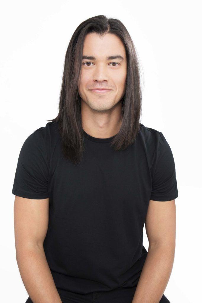 modelo de coque alto masculino