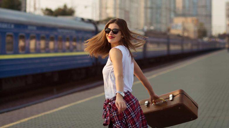 modelo ilustra matéria sobre cabelos nas férias