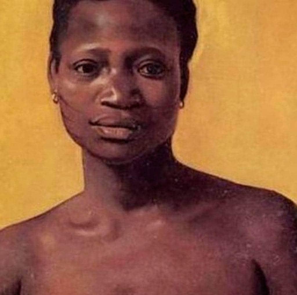 uma das heroínas negras