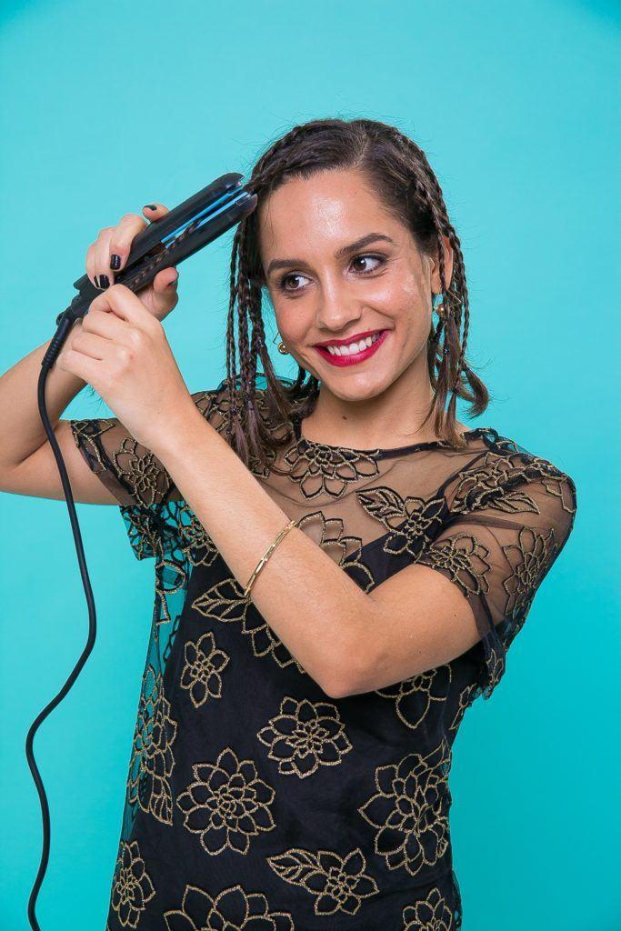 como frisar o cabelo