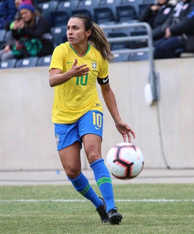 jogadora de futebol feminino marta