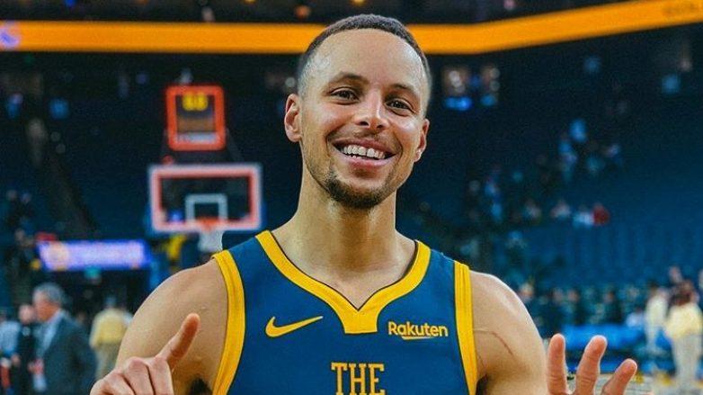 Jogador de basquete Stephen Curry