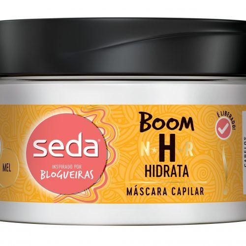 Máscara Capilar Seda Boom Hidrata