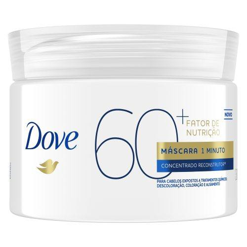 Máscara Dove 1 Minuto Fator de Nutrição 60+