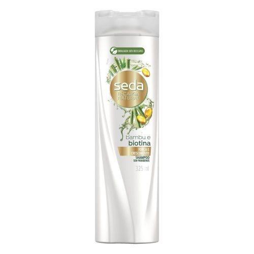 Shampoo Seda Recarga Natural Bambu e Biotina