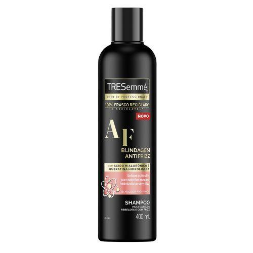 shampoo tresemmé blindagem antifrizz