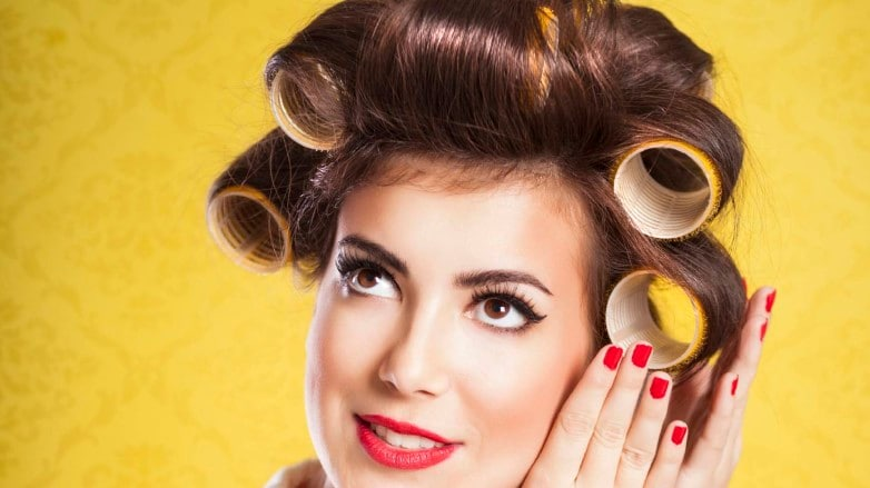 hair rollers: velcro rollers