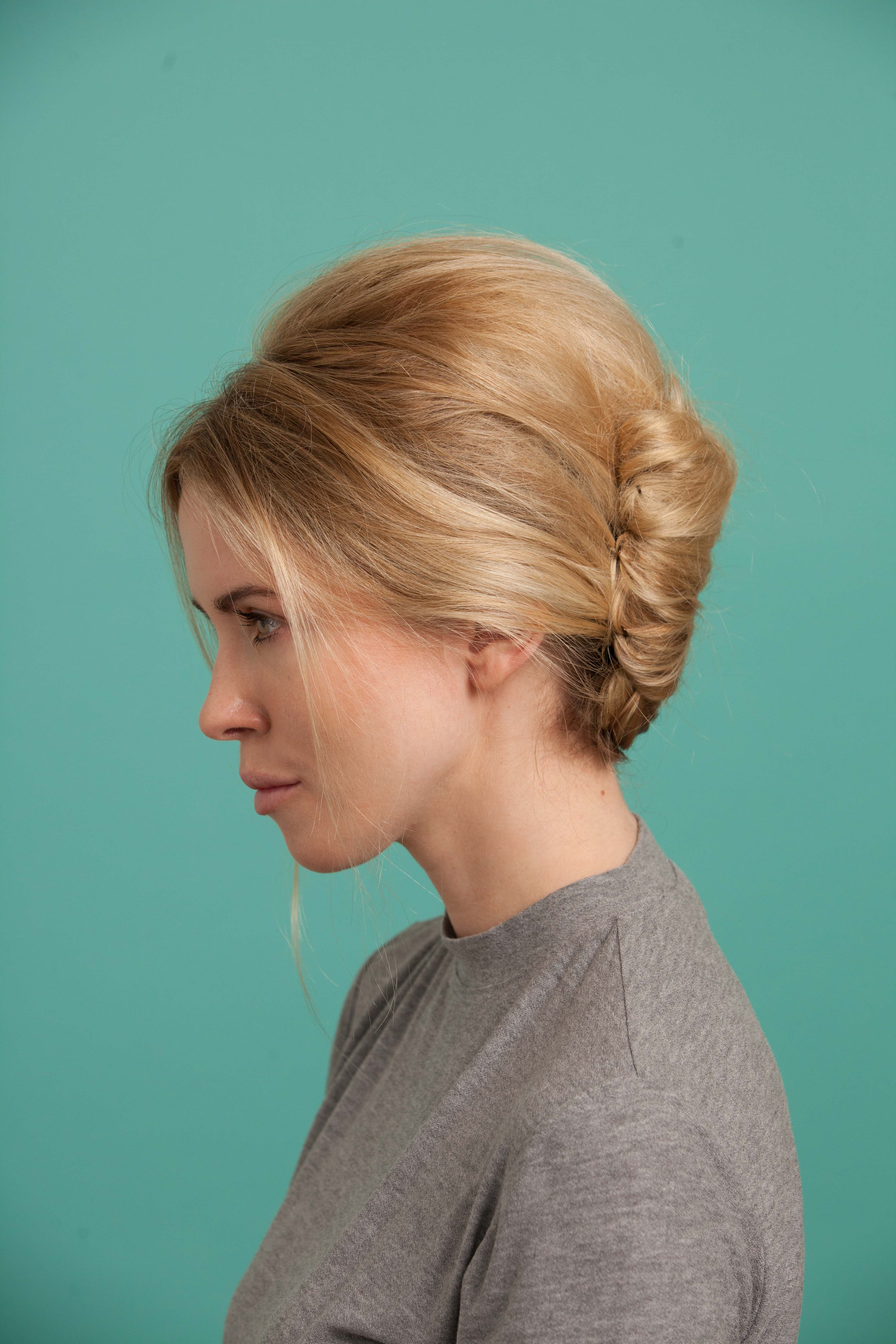 tutorial: modern french twist for prom