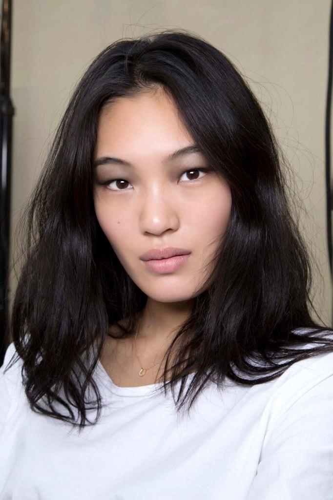 how to style layered hair choppy lob