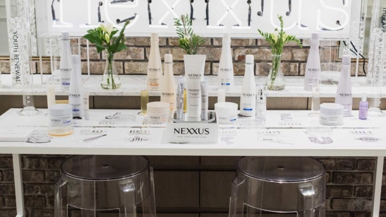 Nexxus hair care line shampoo & conditioner
