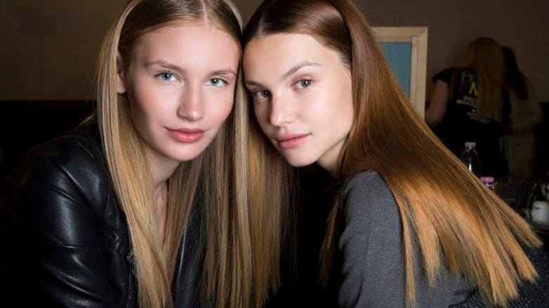 how to achieve pin straight hair