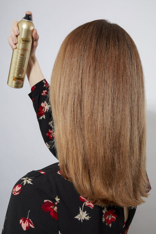 how to blow dry hair set hair