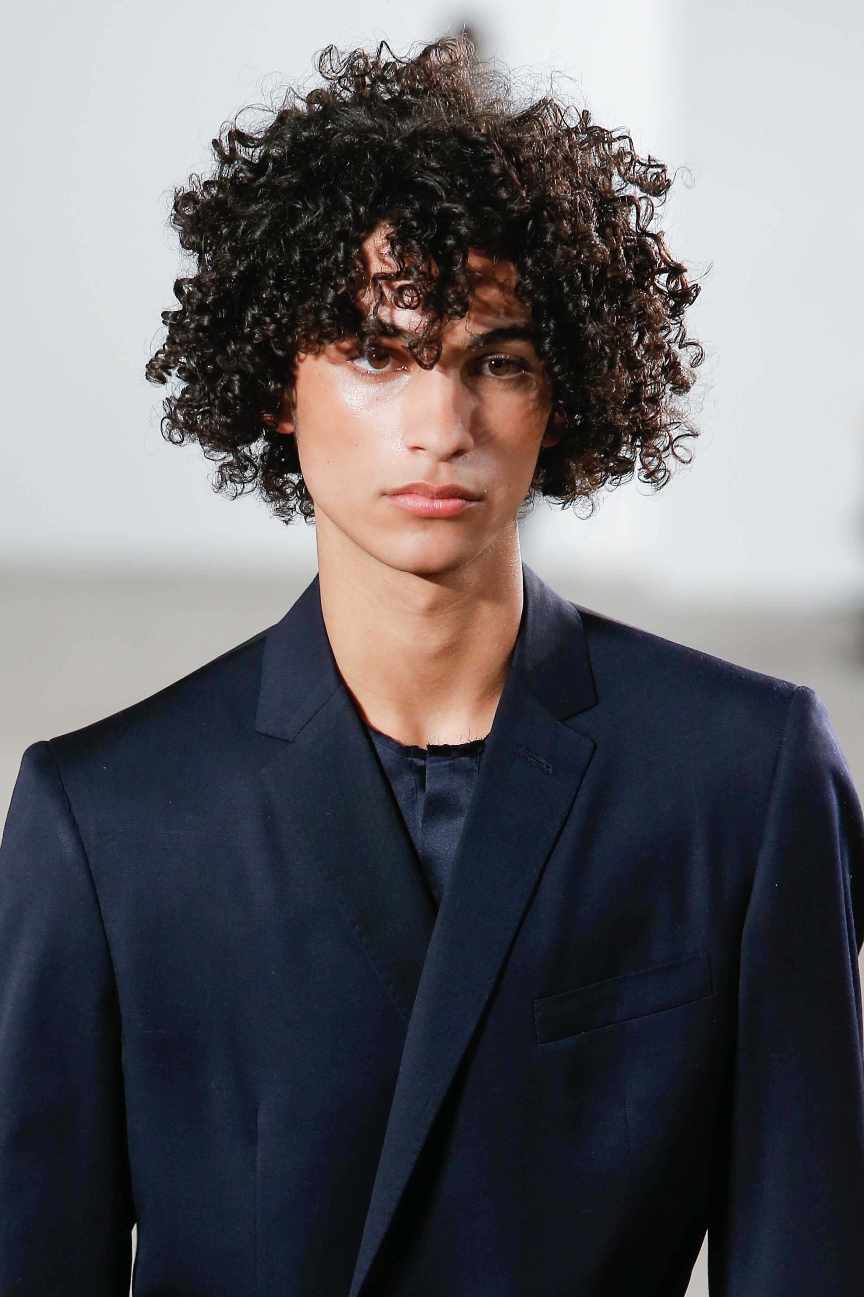 10 Hairstyle Ideas For Curly Hair Men