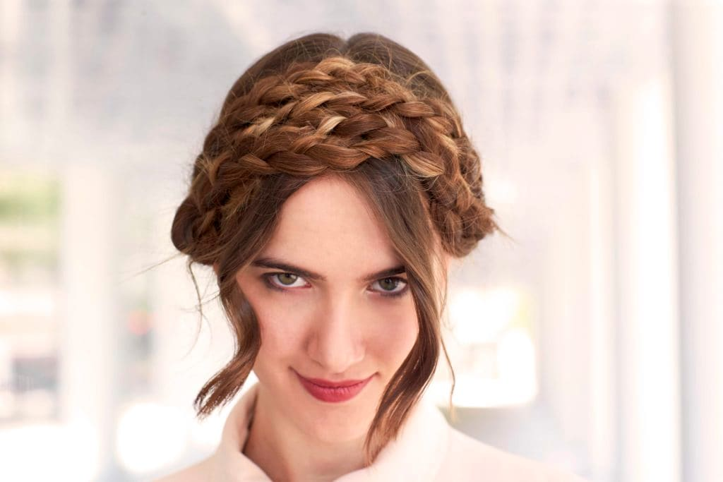 straight hairstyles simple hairstyles with braids
