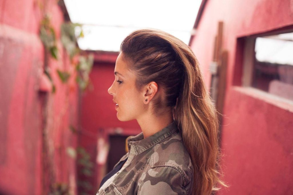 best prom hairstyles side shave