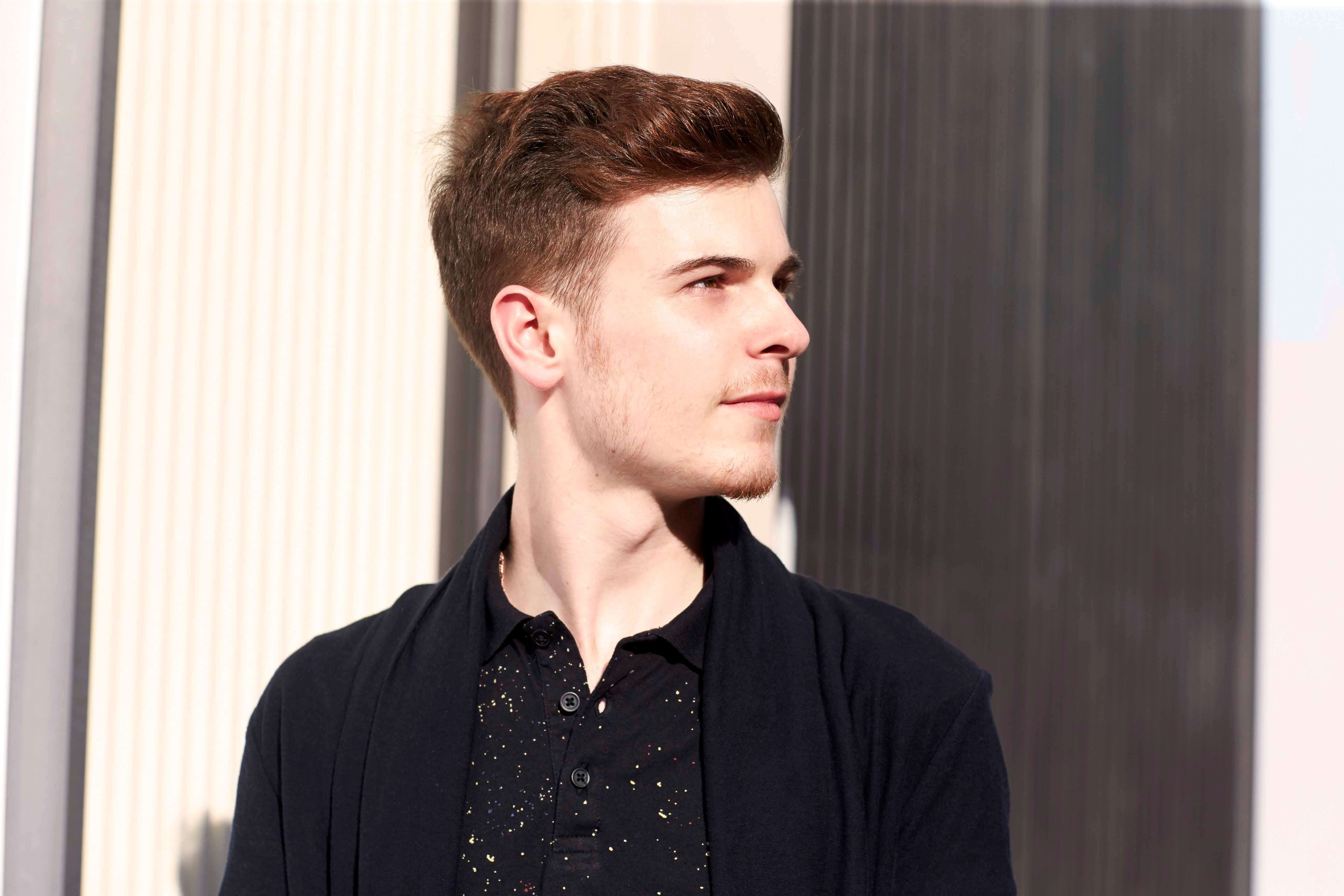 Cool Camouflage Y Hairstyles For Men With Thin Hair